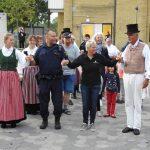Dans med publiken i Ängelholm.